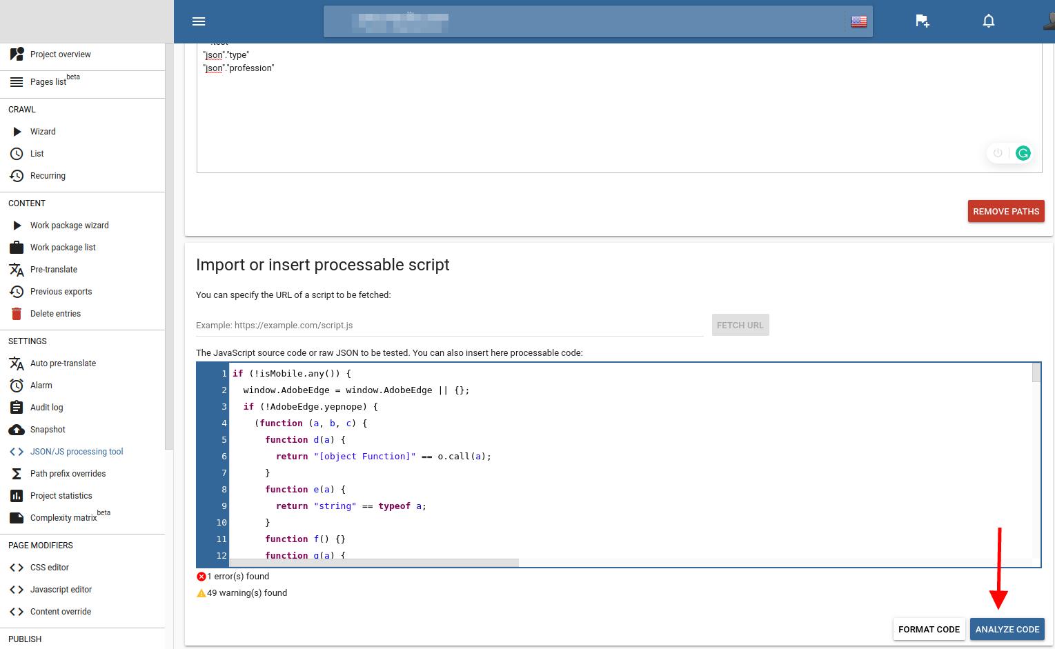 JSON path tester 3